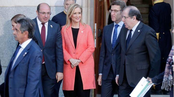 La presidenta de la Comunidad de Madrid, Cristina Cifuentes, participa en la VI Conferencia de presidentes