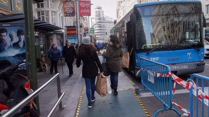 Famma denuncia que la peatonalización de Gran Vía en Navidad incumplía la normativa de accesibilidad en vías públicas