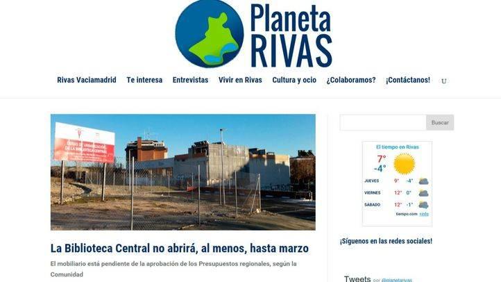 Nace Planeta Rivas, nuevo diario digital local de Rivas Vaciamadrid y el sureste