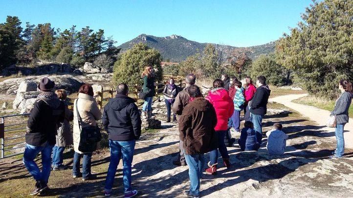 El pasado día 8 de enero entraron los rimeros visitantes al yacimiento de La Cabilda