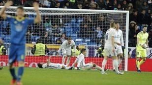 El Celta congela el Bernabéu ante un Madrid impotente