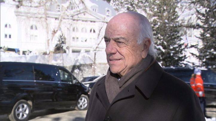Francisco González en el Foro Económico de Davos: 'Es importante preservar la seguridad jurídica'