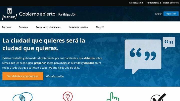El Ayuntamiento le envía una carta a los madrileños para que participen en Decide Madrid