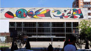 El Palacio de Congresos, futura sede de la Organización Mundial del Turismo en Madrid