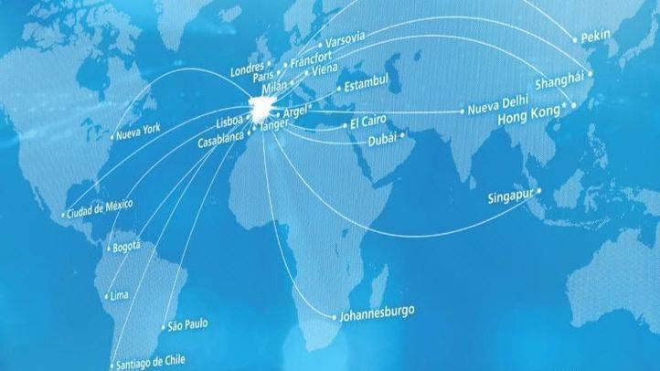 Los países en los que tiene presencia CaixaBank