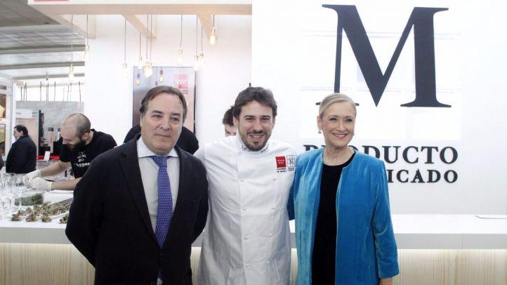 El chef Javier Estévez, embajador de la gastronomía madrileña de calidad