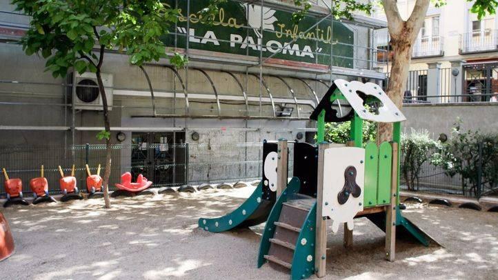 Escuela infantil pública La Paloma en la calle Tabernillas.