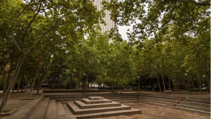 Las obras vuelven este año a la plaza de Azca