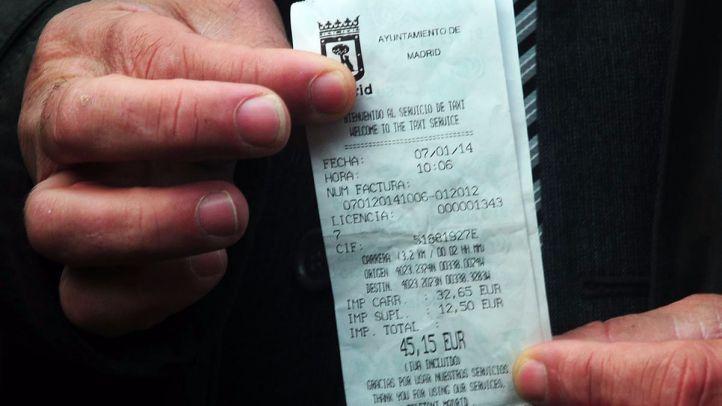 Esperanza Aguirre plantea flexibilizar las tarifas de taxis