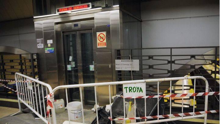 Metro de Madrid instalará este año ascensores en ocho estaciones para que sean totalmente accesibles