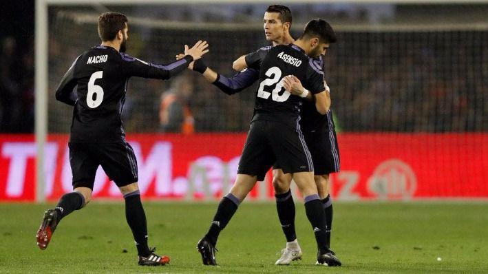 El Madrid, eliminado de la Copa del Rey al empatar con el Celta de Vigo