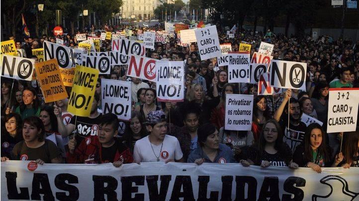 Convocada huelga general educativa contra la LOMCE el 9 de marzo