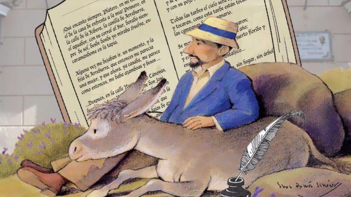 Cartel del concurso de poesía 'Juan Ramón Jiménez'.
