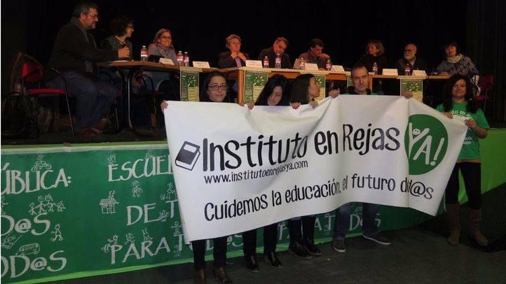 Los vecinos de Rejas se reunirán el 8 de febrero con Educación para reclamar su instituto