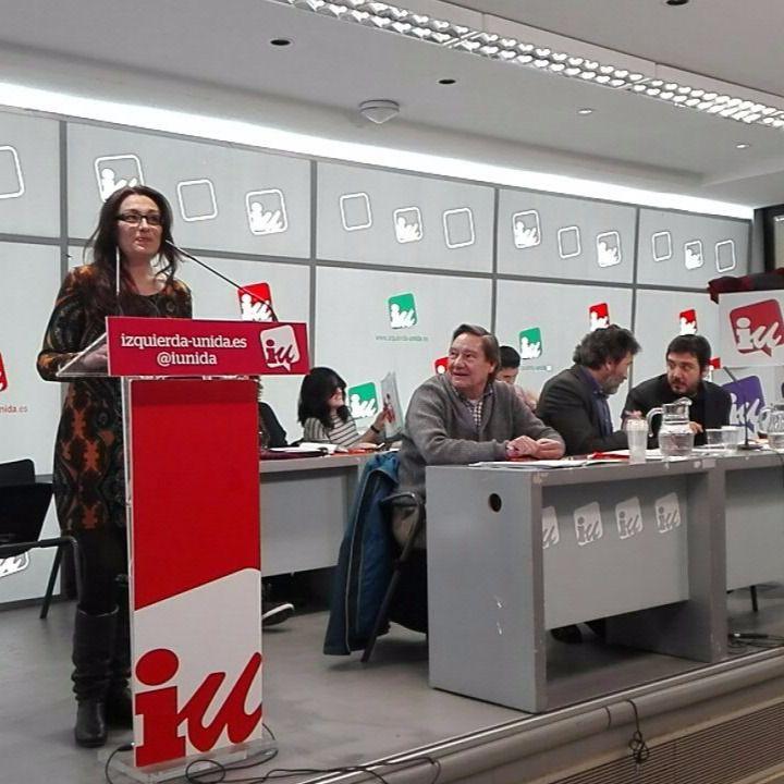 Sol Sánchez, nueva coportavoz de IU Madrid