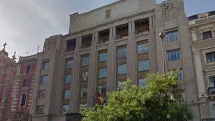 Sede del Área de Gobierno de Economía y Hacienda, calle Alcalá 45