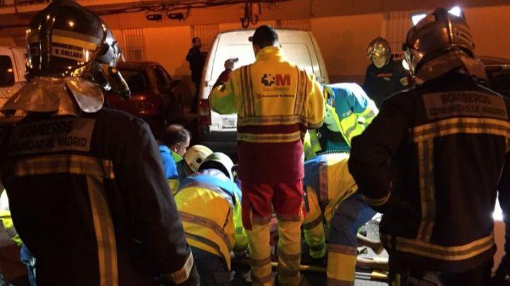 Los servicios de emergencias revierten una parada cardíaca tras el atropello de una mujer de 72 años en Getafe