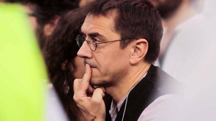El juez declara nula la incompatibilidad de Monedero decidida por la Complutense