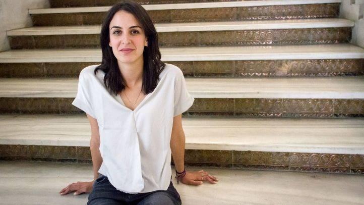 Rita Maestre, número dos de la lista de Errejón, que cierra el actor Pepe Viyuela