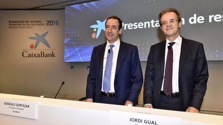 CaixaBank incrementa su beneficio en un 28,6 % en el último año