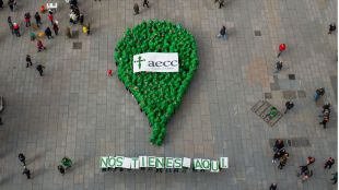 La AECC conmemora en el Día Mundial contra el Cáncer en Madrid