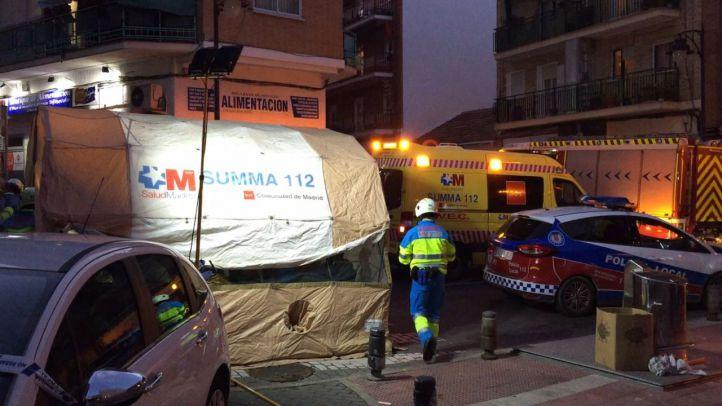 Un hombre de 60 años, grave tras una explosión en San Sebastián de los Reyes que afecta a 25 vecinos