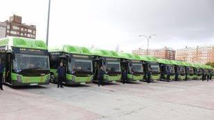 La Comunidad de Madrid incorpora 14 nuevos autobuses interurbanos de gas natural