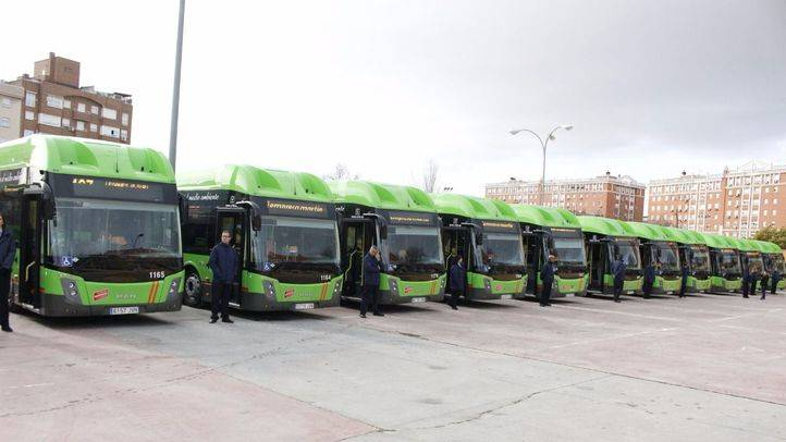 La Comunidad de Madrid incorpora 14 nuevos autobuses interurbanos de gas natural