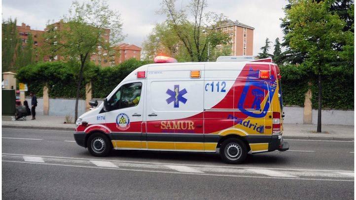 Ambulancia UVI movil del Samur