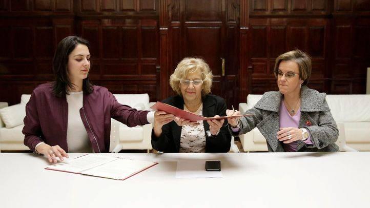 Firma del acuerdo para los presupuestos de 2017