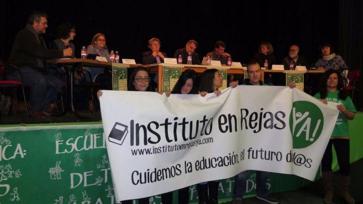 Los vecinos de Rejas se reúnen hoy con Educación para reclamar su instituto