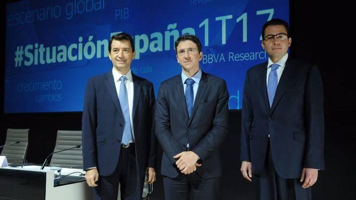 BBVA Research mejora sus previsiones de crecimiento para España en 2017 hasta el 2,7%