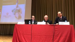Ángel Astorgano, Carlos Osoro y José Antonio Poveda.