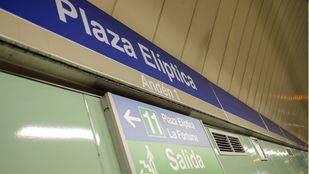 La estación de Metro de Plaza Elíptica será
