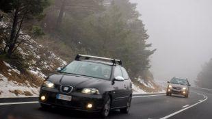 Emergencias pide precaución en los puertos de montaña por la nieve