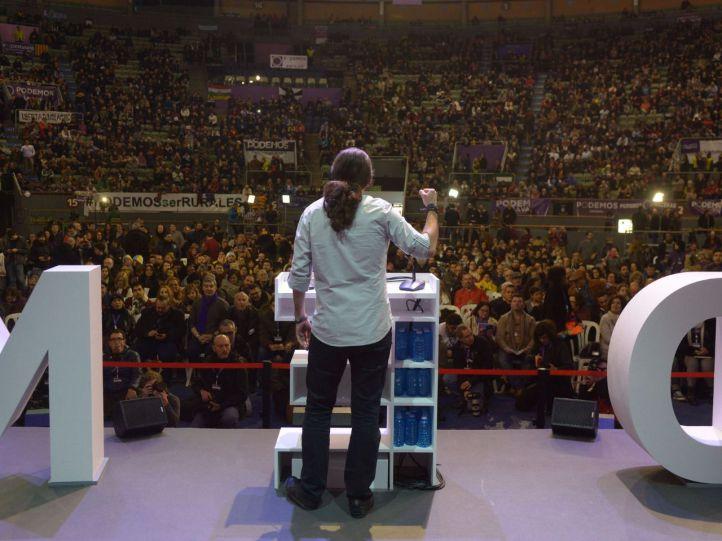 Vistalegre II supera el récord de participación de Podemos con más de 155.000 votos