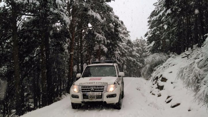Alerta por nevadas de hasta 30 centímetros en la sierra