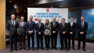Presentación de la campaña de seguridad de las instalaciones de gas