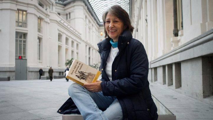 Carmen Santamaría Alonso, autora del libro 'Doce siglos de historias de Madrid'
