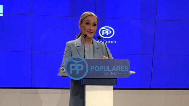 Cristina Cifuentes se postula a la presidencia del PP madrileño