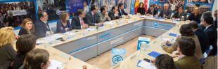 Reunión de la Gestora del PP de Madrid