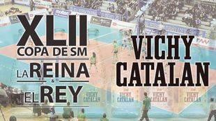 Cartel promocional de Vichy Catalan.