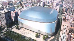 Recreación de la reforma del Santiago Bernabéu