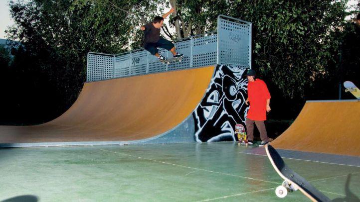 Parla convertirá un estanque vacío en un parque de 'skate'