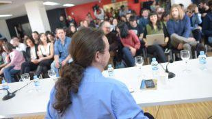 Pablo Iglesias preside el primer Consejo Ciudadano tras Vistalegre 2