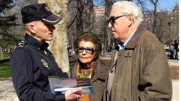 Una veintena de detenidos por robar a ancianos con