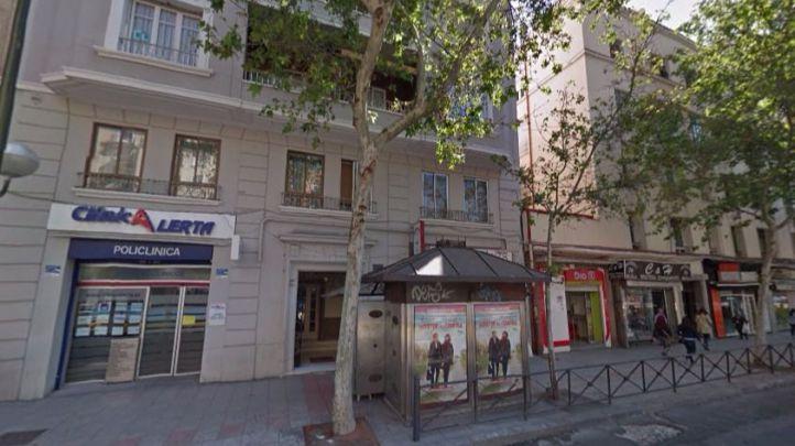 Los hechos han tenido lugar en el 78 de la calle Francisco Silvela