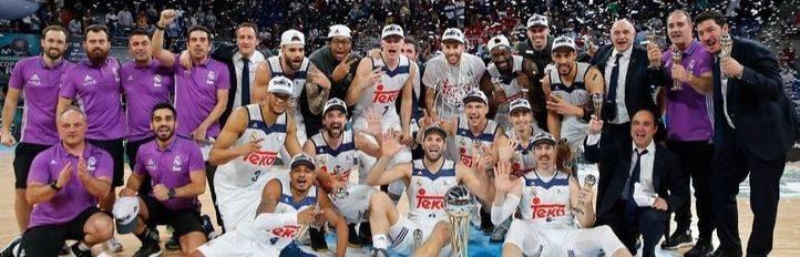 El Real Madrid conquista su cuarta Copa consecutiva