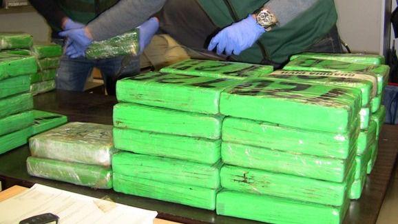 La Guardia Civil interviene 166 kilos de cocaína en el Ensanche de Vallecas