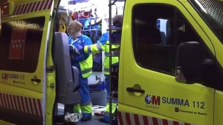 Un niño de 9 años, grave tras caer de un cuarto